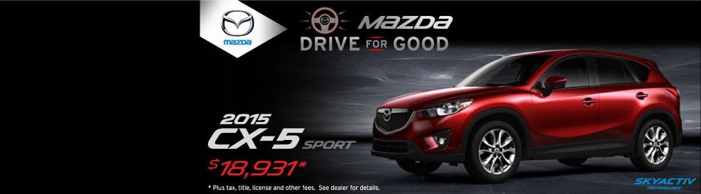 Mazda Drive for Good - CX-5