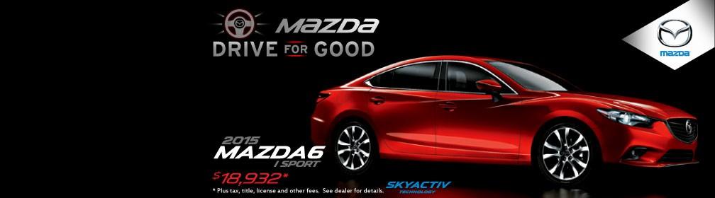 Mazda Drive for Good - Mazda6