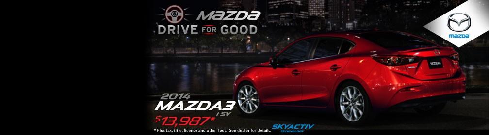 Mazda Drive for Good - Mazda3