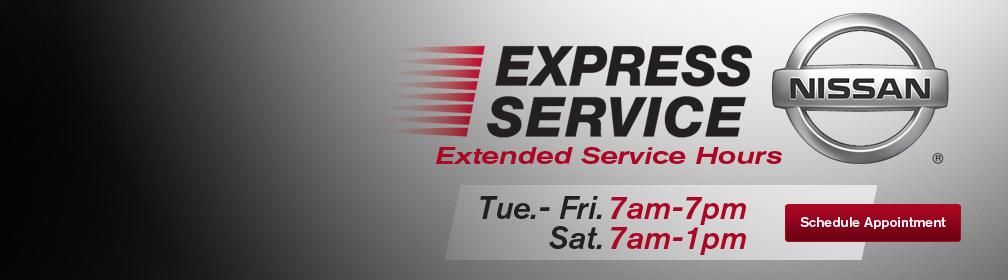 Auffenberg Nissan Express Service
