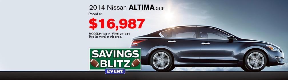 Auffenberg Nissan 2014 Altima