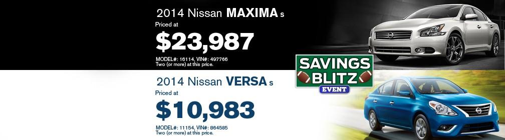 Auffenberg Nissan Maxima Versa