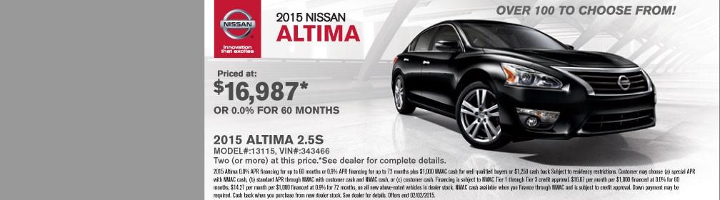 Auffenberg Nissan 2015 Altima