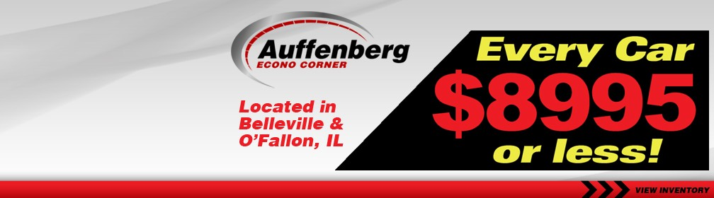 Auffenberg Econo Corner - Every Car $8995 or less!