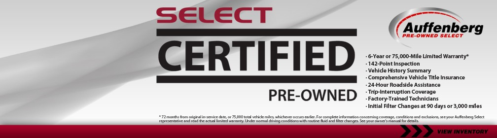 Auffenberg Select Certified Pre-Owned