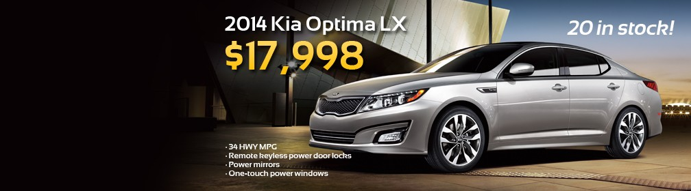 Preowned 2014 Kia Optima