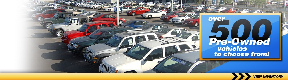 Auffenberg Pre-Owned Center - 500 Pre-Owned Cars to choose from!