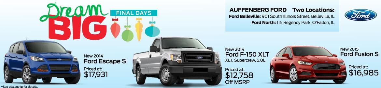 Ford Dream Big Final Days