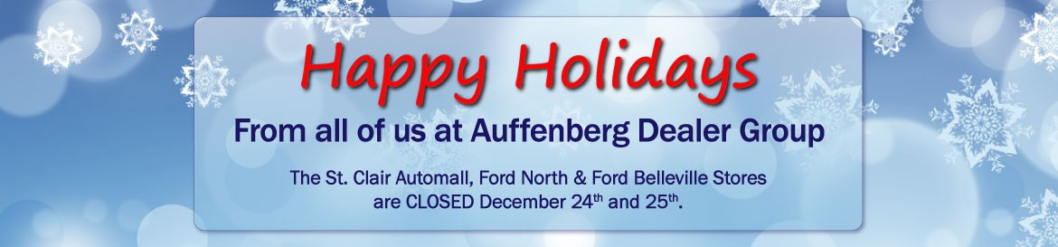 Happy Holidays Auffenberg Dealer Group