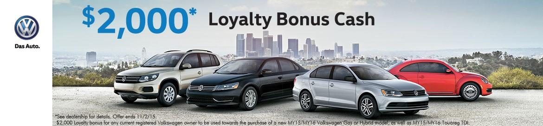 Loyalty Bonus Cash