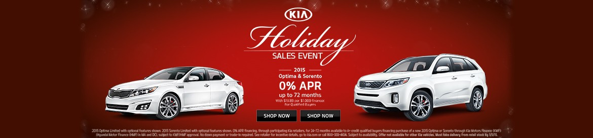 Auffenberg KIA Holiday Sales Event