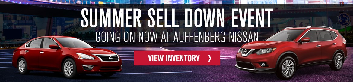 New Nissan Summer Sell Down Event