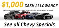 Chevy Specials