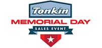 Tonkin Memorial Day Sale