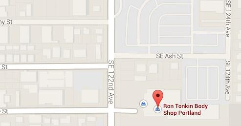 Ron Tonkin Body Shop Map Location