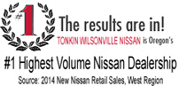 Tonkin Wilsonville Nissan Highest Volume Nissan Dealership