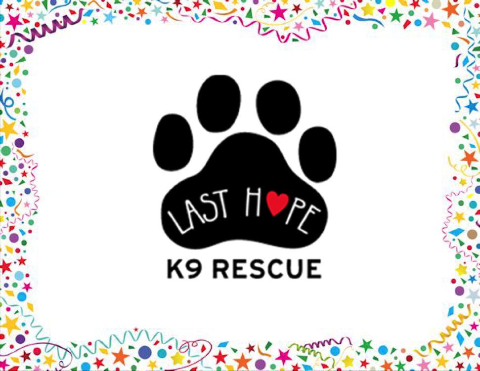 Last Hope K9 Resuce Charity Winner