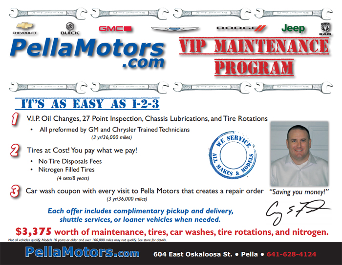 VIP Maintenance Program