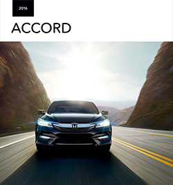 2016 Accord Brochure