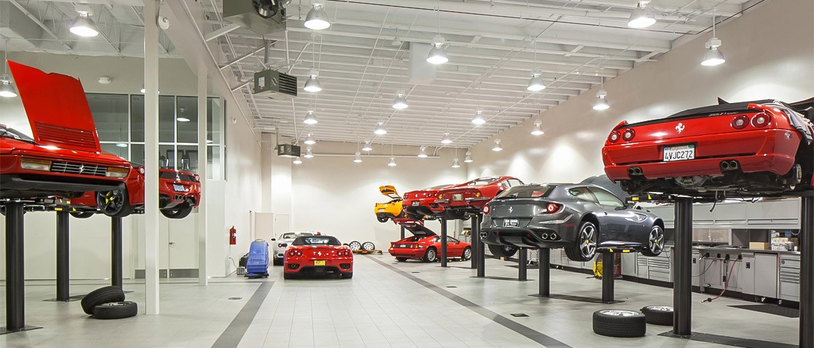 Ferrari of Portland service center