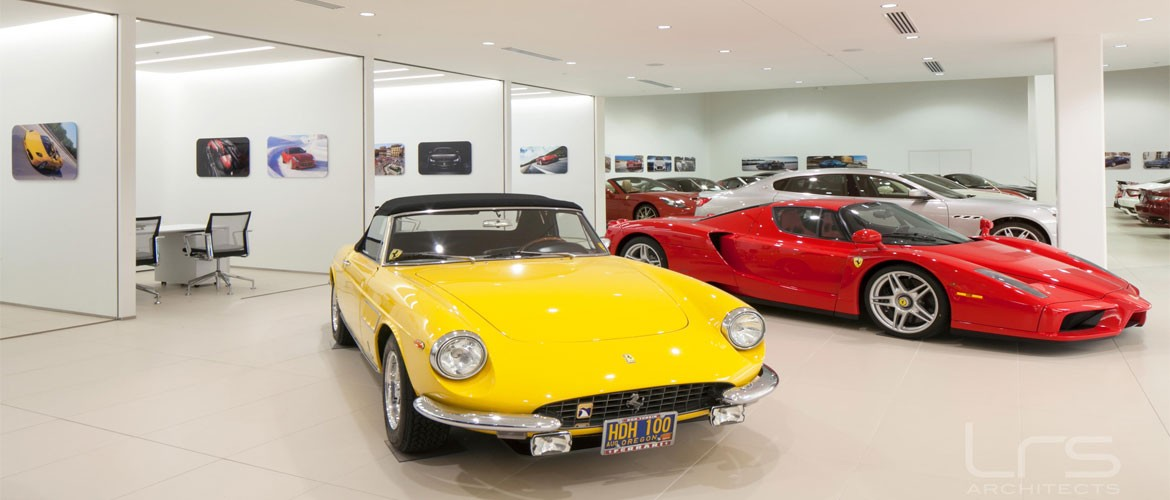 Classic and unique Ferraris