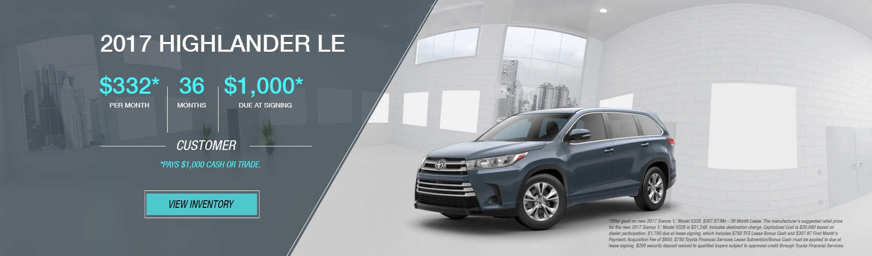 2017 Highlander LE at Beaverton Toyota