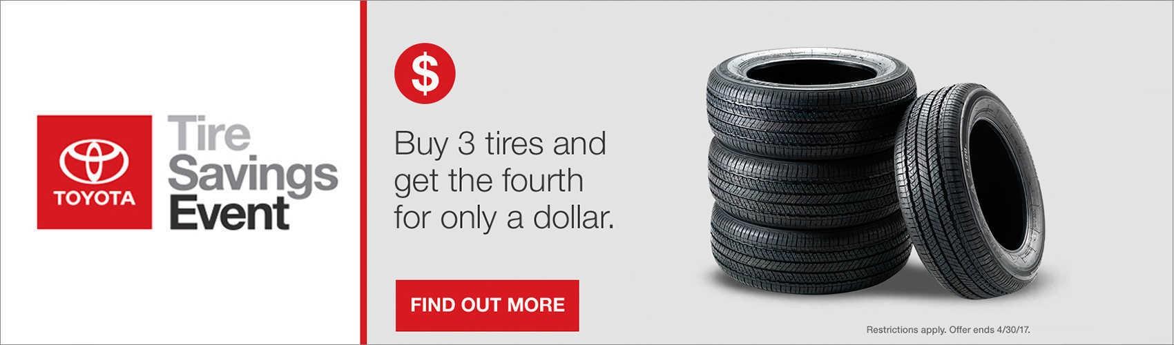 Tire Sale at Beaverton Toyota
