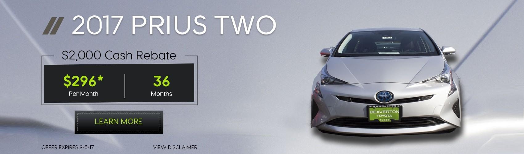 2017 Prius C Auto