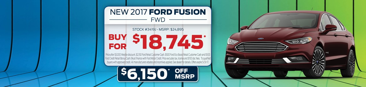 New 2017 Ford Fusion For Sale In Washougal, WA