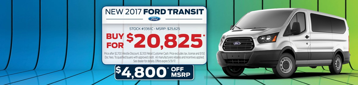 New 2017 Ford Transit For Sale In Washougal, WA