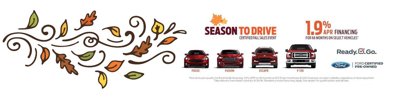 Season to drive