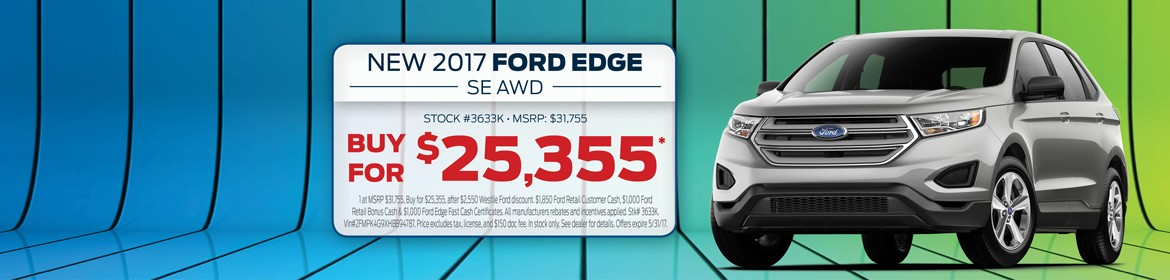 New 2017 Ford Edge For Sale In Washougal, WA