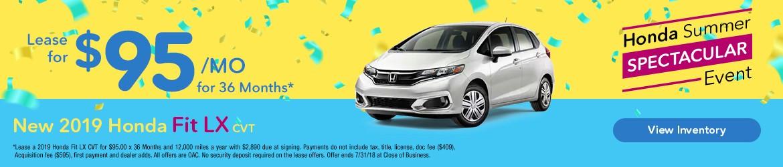 New 2019 Honda Fit LX Peoria AZ