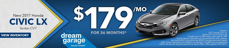 New 2017 Honda Civic Peoria AZ