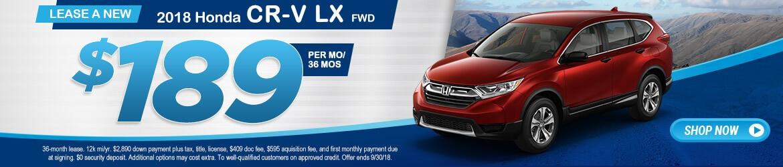 New 2018 Honda CR-V LX Peoria AZ