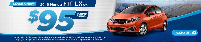 New 2018 Honda Fit LX Peoria AZ