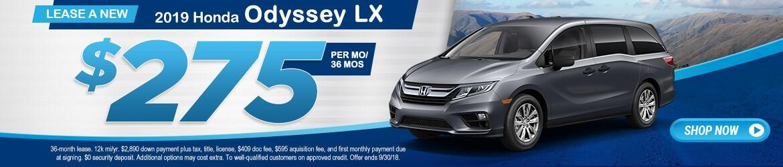 New 2018 Honda Odyssey LX Peoria AZ