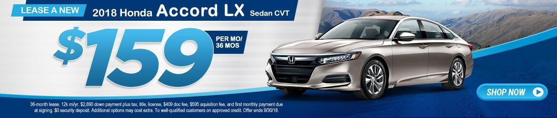 New 2018 Honda Accord LX Peoria AZ
