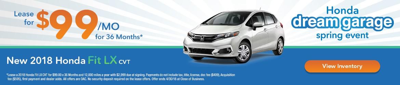 New 2018 Honda Fit Peoria AZ