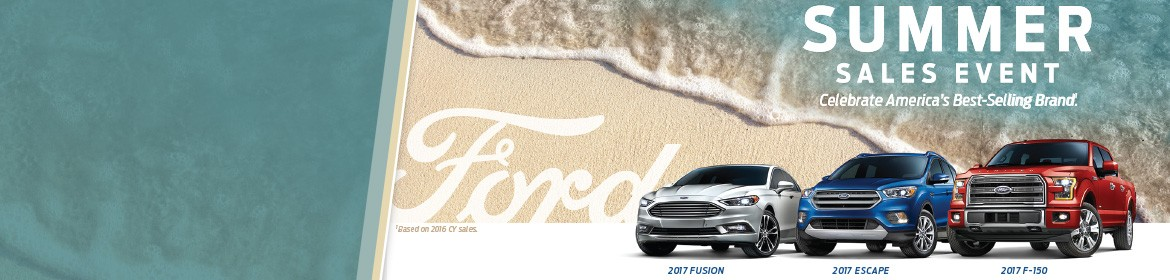 2017 Ford Summer Sales Event!  Celebrate America's Best-Selling Brand!