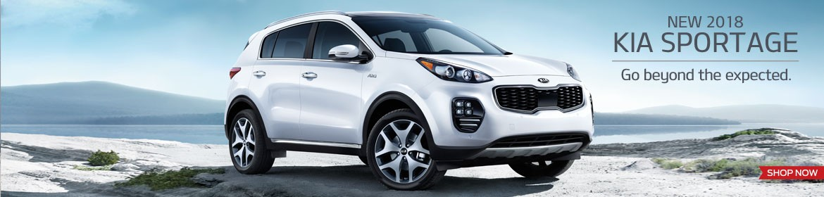 New 2018 Kia Sportage - Go beyond the expected.
