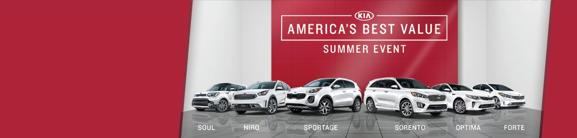 America's Best Value Summer Event!  Value is Back!