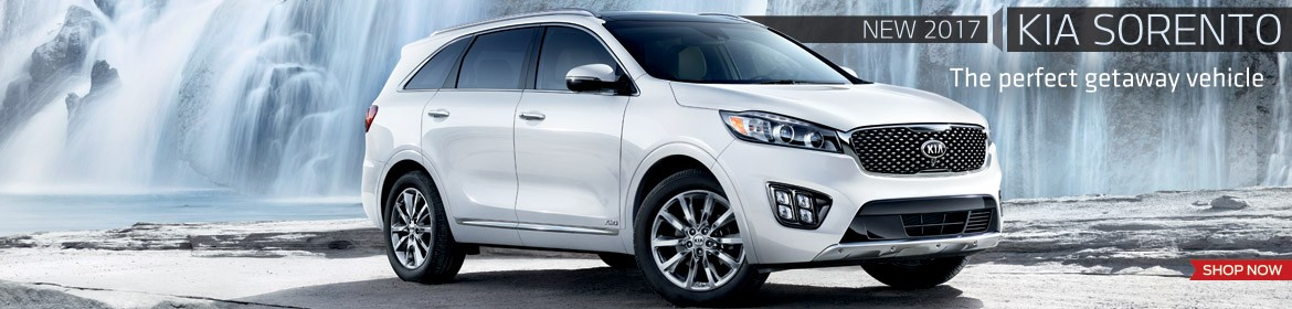 New 2017 Kia Sorento - The Perfect Getaway Vehicle