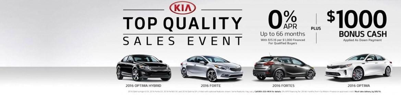 Top Quality Sales Event - 0% APR up to 66 months PLUS $1,000 Bonus Cash