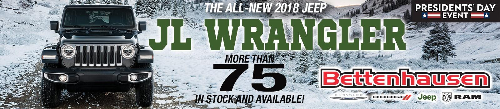 All New Wrangler J/L