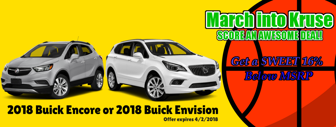2018 Buick Encore and Envision