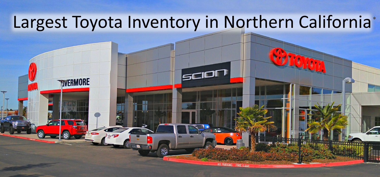 Largest Toyota Inventory in Northern California