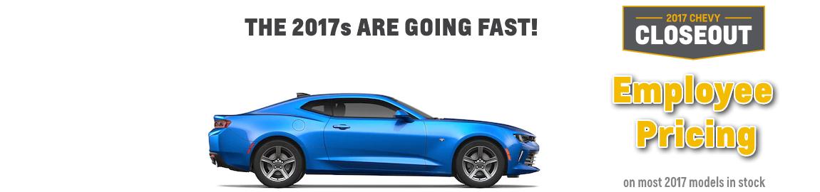 2017 Camaro Closeout