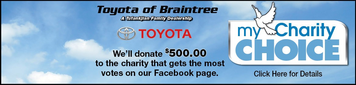 My Charity Choice Toyota of Braintree