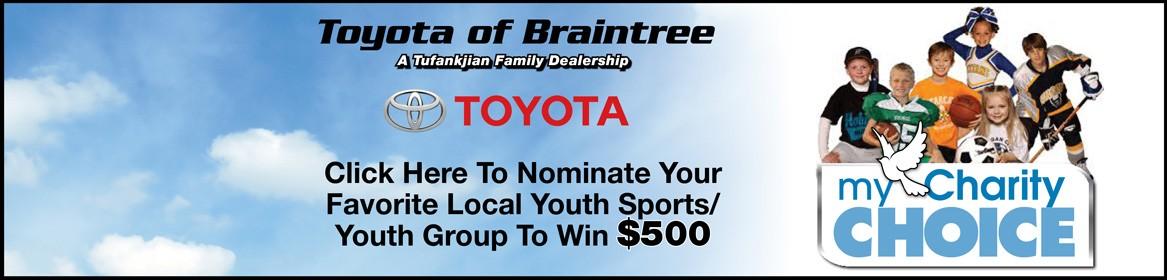 Toyota of Braintree My Charity Choice
